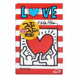 Презерватив Keith Haring Design Love Dot 1 шт