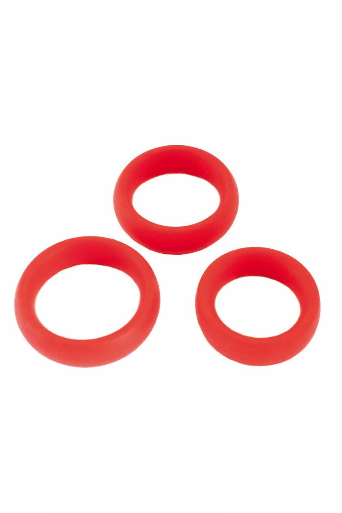 Набор колец красные, 1 шт