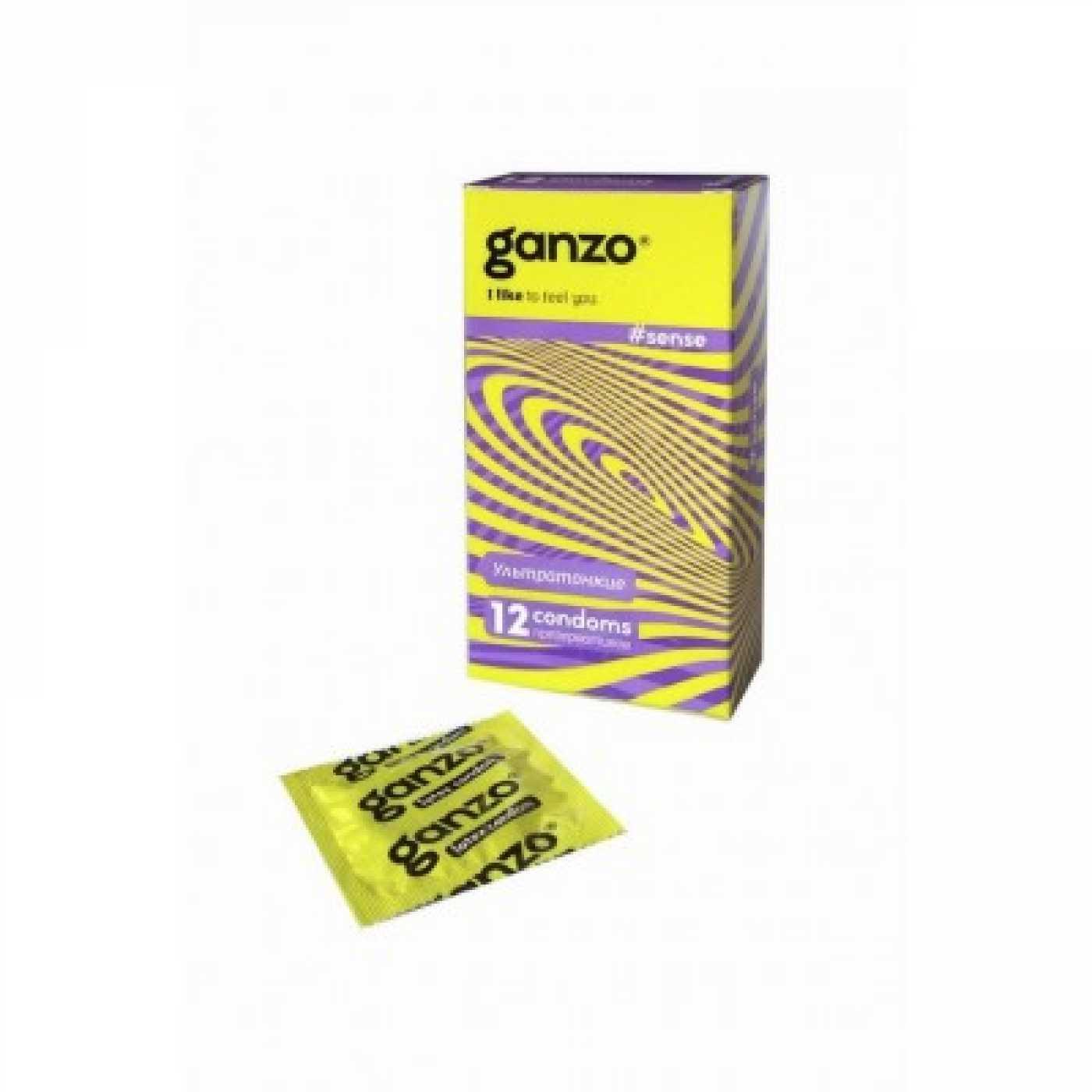 Презерватив Ganzo Sense 12 шт.