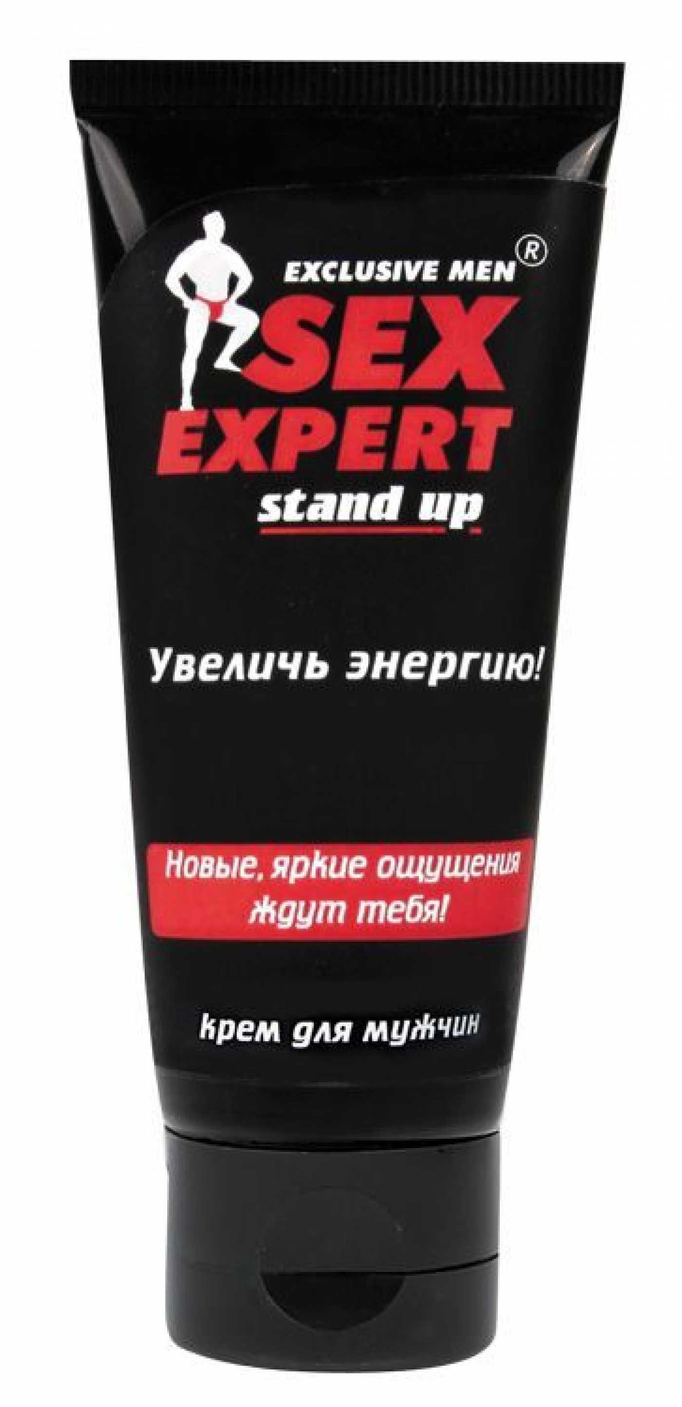 "Крем ""Stand up"" для мужчин ""Sex Expert"" 40гр"