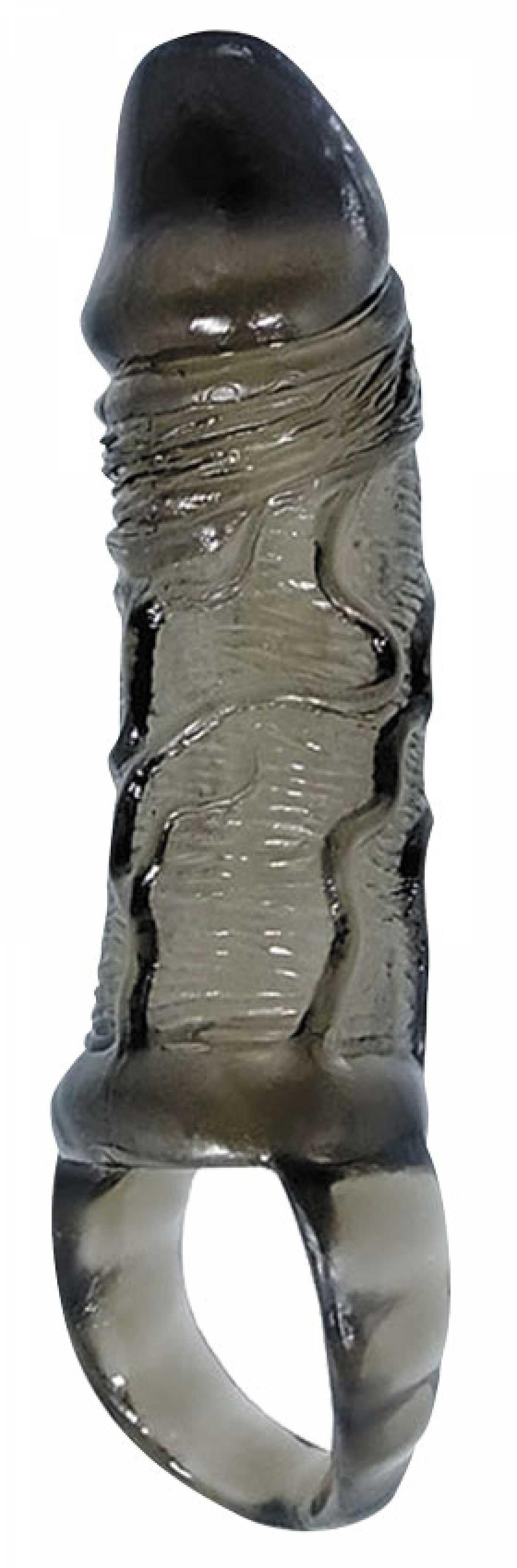 Насадка бесцветная с петлей для мошонки