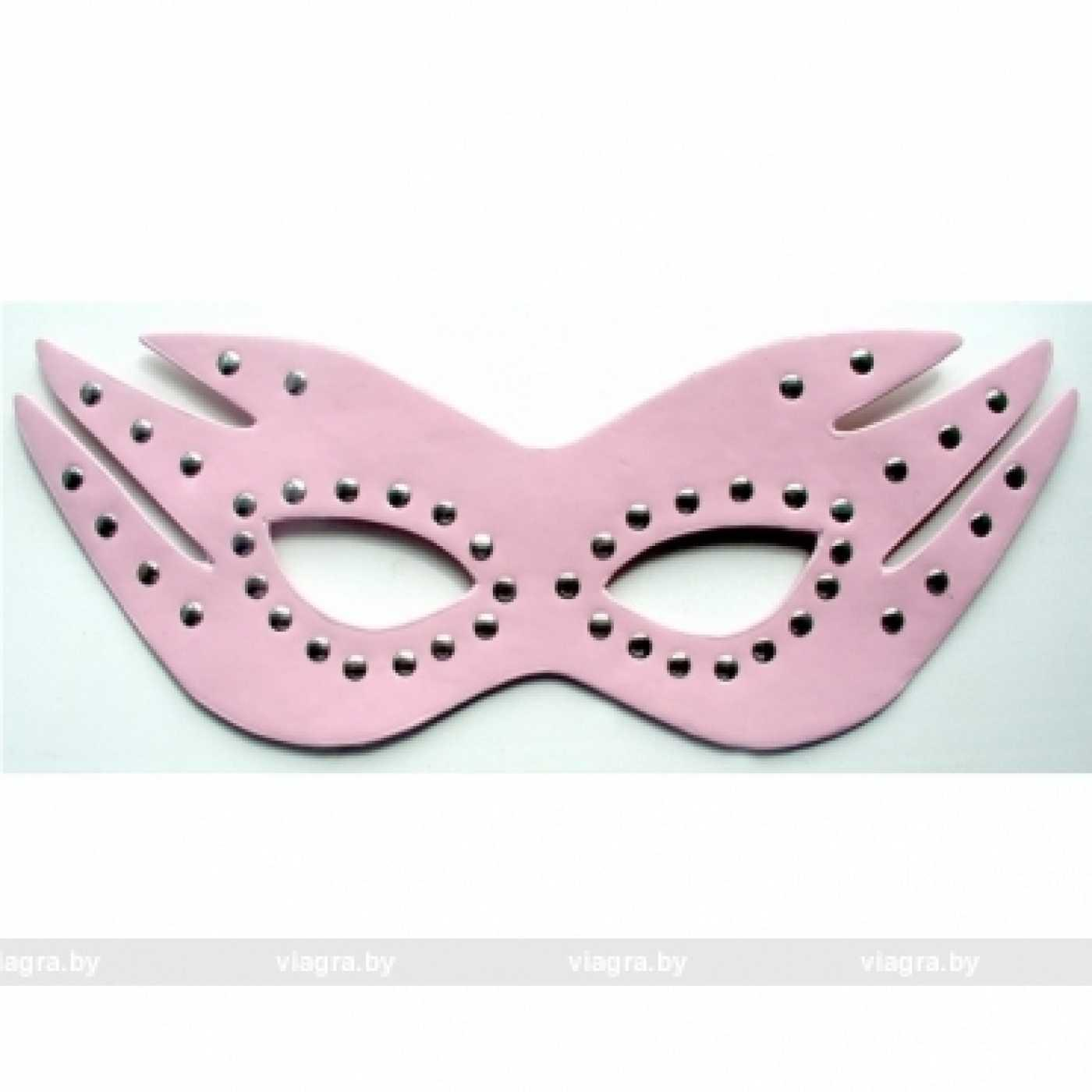 Маска на глаза ( розовая )
