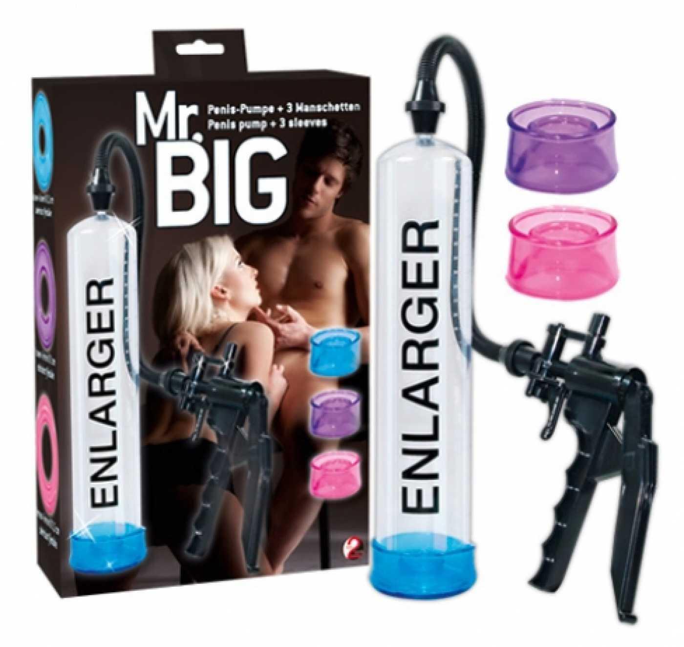Помпа для пениса Mr.Big