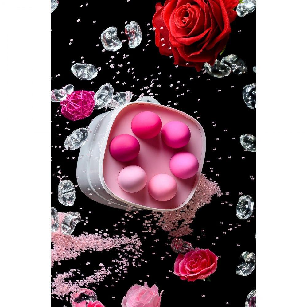Набор из 6 вагинальных шариков Eromantica K-ROSE