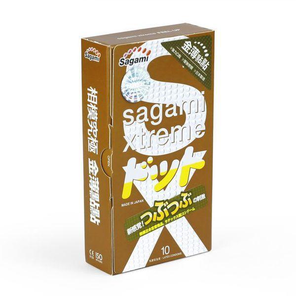 Презервативы SAGAMI Xtreme Feel UP 1 шт. усиливающие ощущения