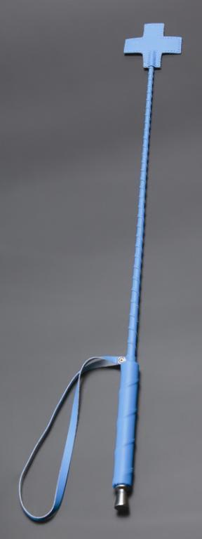 Стек Голубой окончание в виде креста