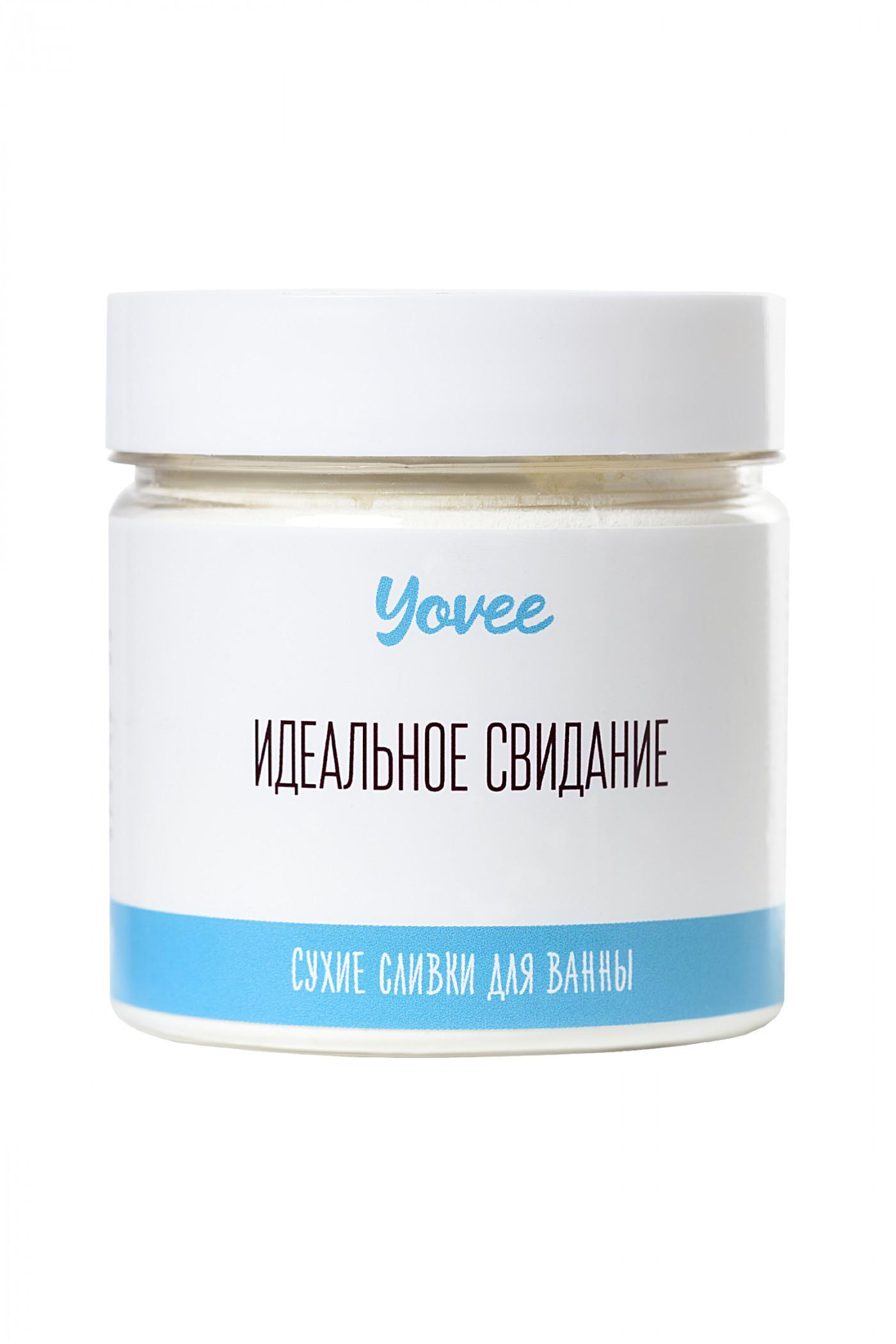 Сухие сливки для ванны Yovee by Toyfa «Кокосовый рай», с ароматом кокоса