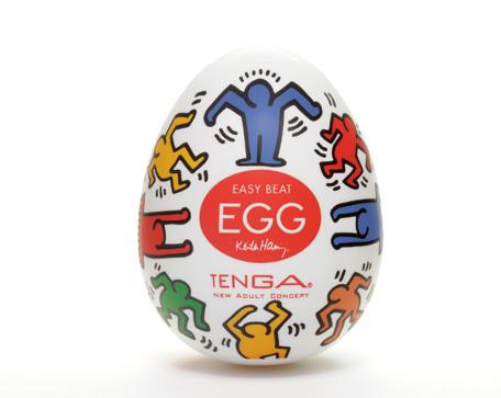 Мастурбатор яйцо Tenga Keith Haring Egg Dance