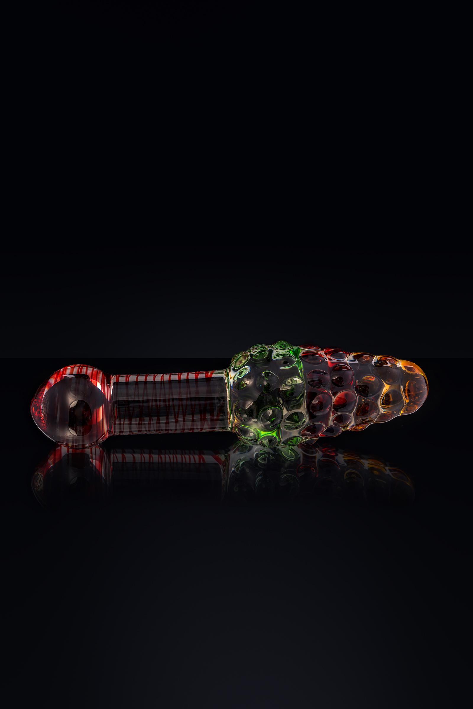 Нереалистичный фаллоимитатор Sexus Glass стекло 17 см