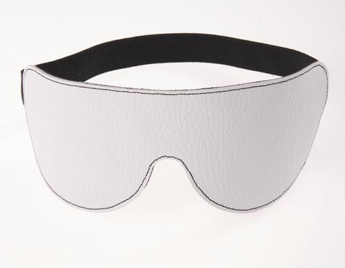 маска на глаза белая